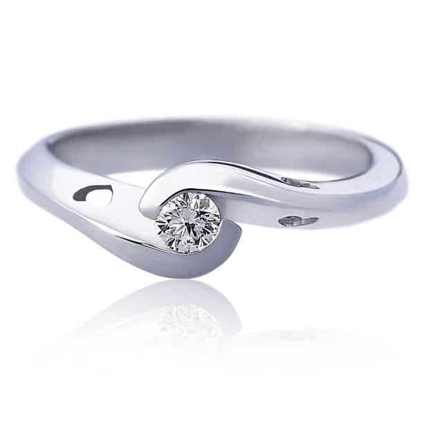 Zaručnički prsten Infiniti srce